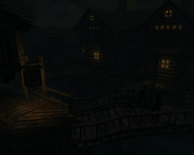 Riften with Ultra-Realistic World Lighting