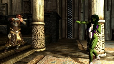 She Hulk Vs Whiterun