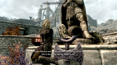 Even the Thalmor doesn't take him seriously