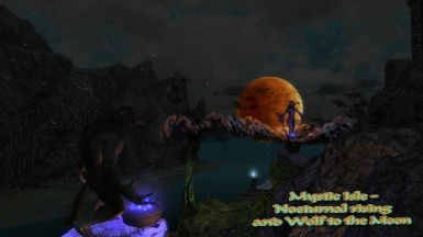 Mystic Isle - Nocturnal rising and Wolf to the Moon