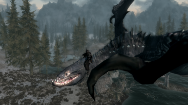 The Witch King in Skyrim