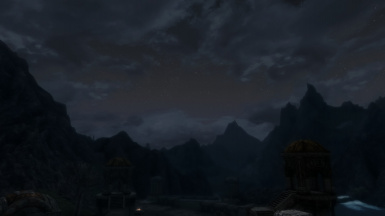 Lovely Night just outside Markarth