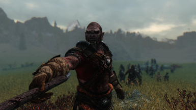 The Orc Commander