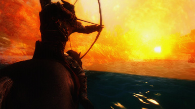 Fire- Water and a Arrow Between the Eyes
