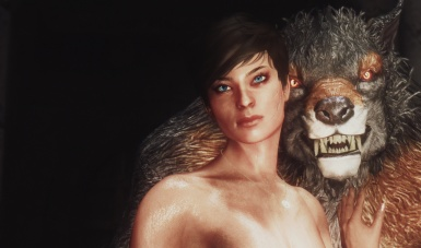 Woman and Werewolf