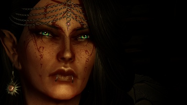 Serana And the Queen of Witches eyes