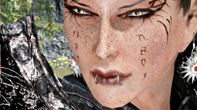 Close up using nirn enb