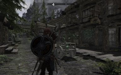 New Shield and Bow Placement