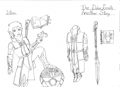 The Elder Scrolls Another Story Character 5