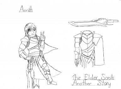 The Elder Scrolls Another Story Character 8