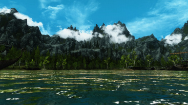 Lake at Riften
