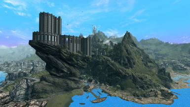 The college of Winterhold view
