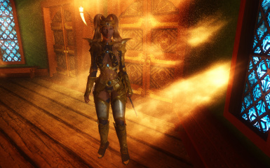 Sorceress Armor Gold 07