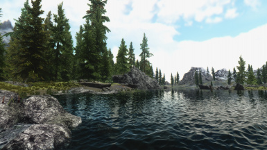 RealV with parallax water