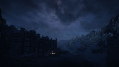 Looking out from Windhelm