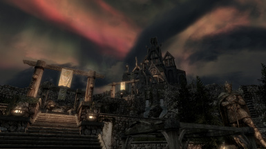 Whiterun Nighttime Sky