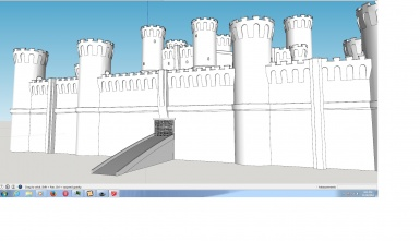 The early stages of a Castle