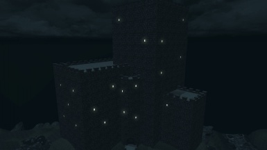 I have been working on this castle for about three days now and got it into the game