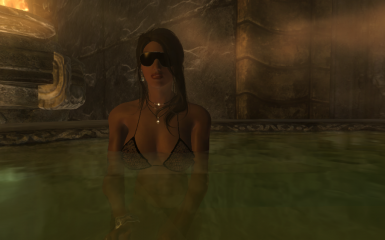 Indoor pool in Skyrim 3