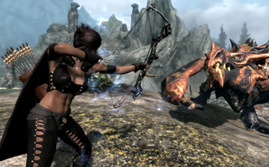 compound bows in skyrim 1