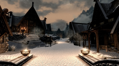 Winter in Whiterun