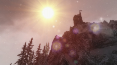 Sun at Dawnstar