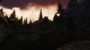 A typical evening in riverwood