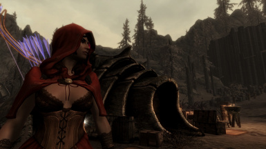 RED RIDING HOOD IN SKYRIM