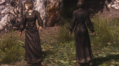 Black Mage Robes Replacer