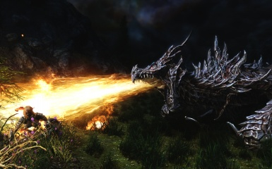 Alduin's Final Attack
