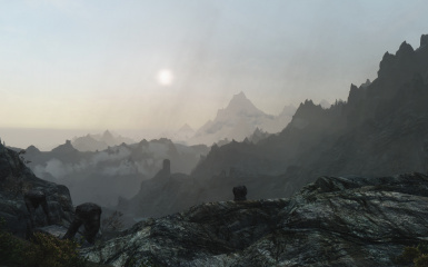 Early Morning Mountain View
