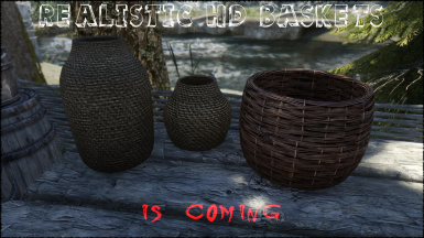 Skyrim Realistic HD Baskets is coming 2
