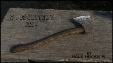 RHD Woodcutter's Axe InGame Preview