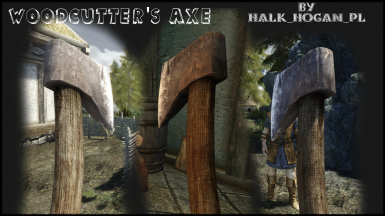 RHD Woodcutter's Axe InGame Preview 2