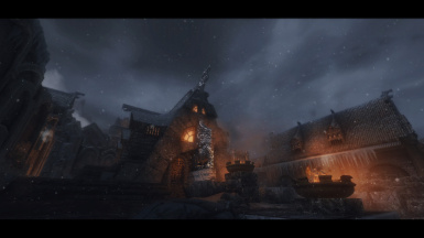 That Shot in Windhelm That Gets Over used