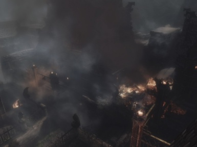 Windhelm in Flames 2