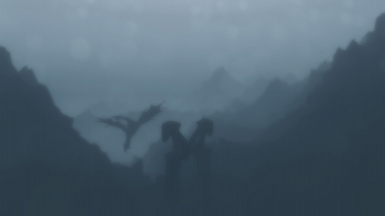 Dragons Silhouette