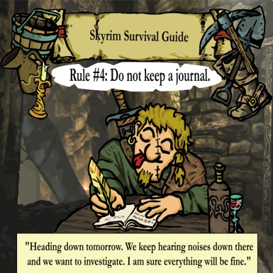 Skyrim survival guide No4