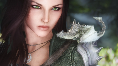 Teslynn and Her Baby Dragon