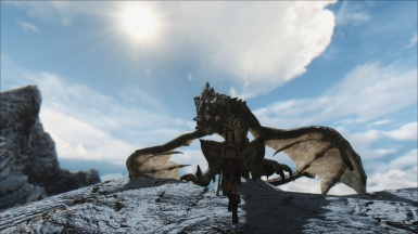 A Girl and Her Dragon