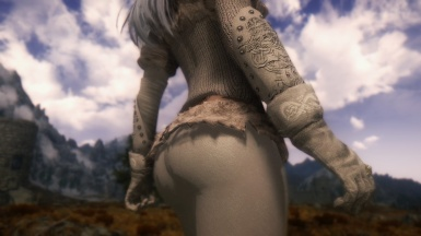 Blanche - NorthGirl Armor - CBBE test - Rear