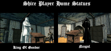 Player home Statues