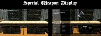 Weapon Displays