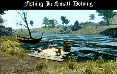 Fishing In Small Dolving