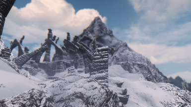 Bleak Falls Outside