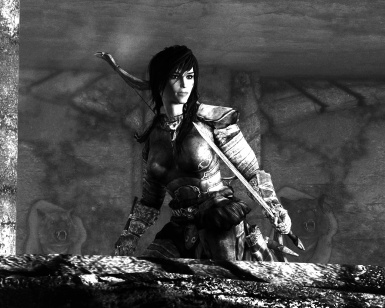 Last Screen of My First Day in Modded Skyrim - Edited