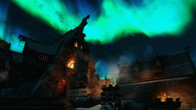 Windhelm at night