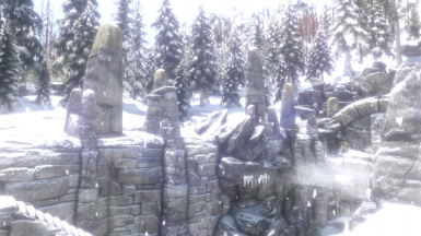 My favourite scenery in Skyrim