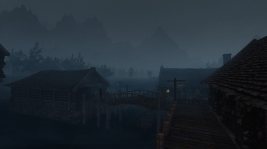 Another foggy day in Riften