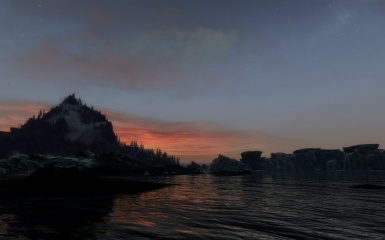 A Sunset Over Water TK
